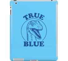 True Blue Raptor iPad Case/Skin