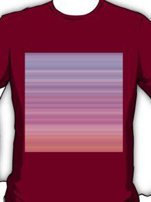 Rose-Pink-Lilac Stripes T-Shirt
