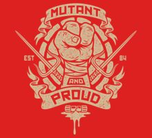 Mutant and Proud! (Raph) Baby Tee