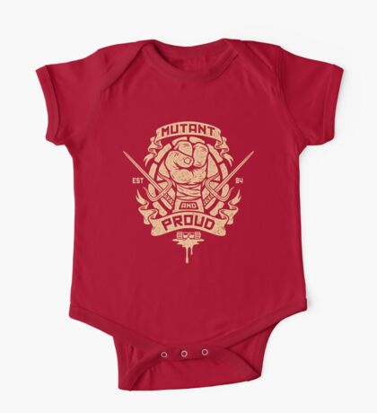 Mutant and Proud! (Raph) One Piece - Short Sleeve
