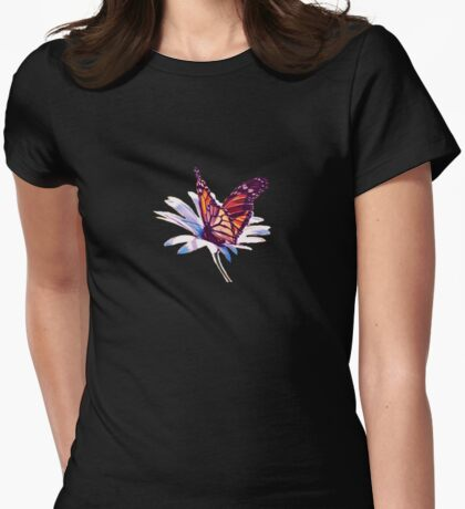 Butterfly on Daisy T-Shirt