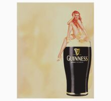 irish stout pinup girl by studenna