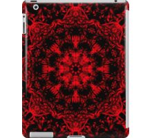 Deep Red Gothic Fleur iPad Case/Skin