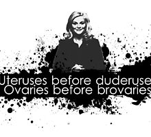 Ovaries before brovaries  by kurticide