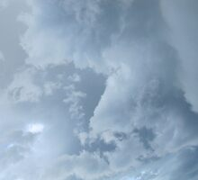 Riviera Visual - Cronulla Cloud Art by RIVIERAVISUAL