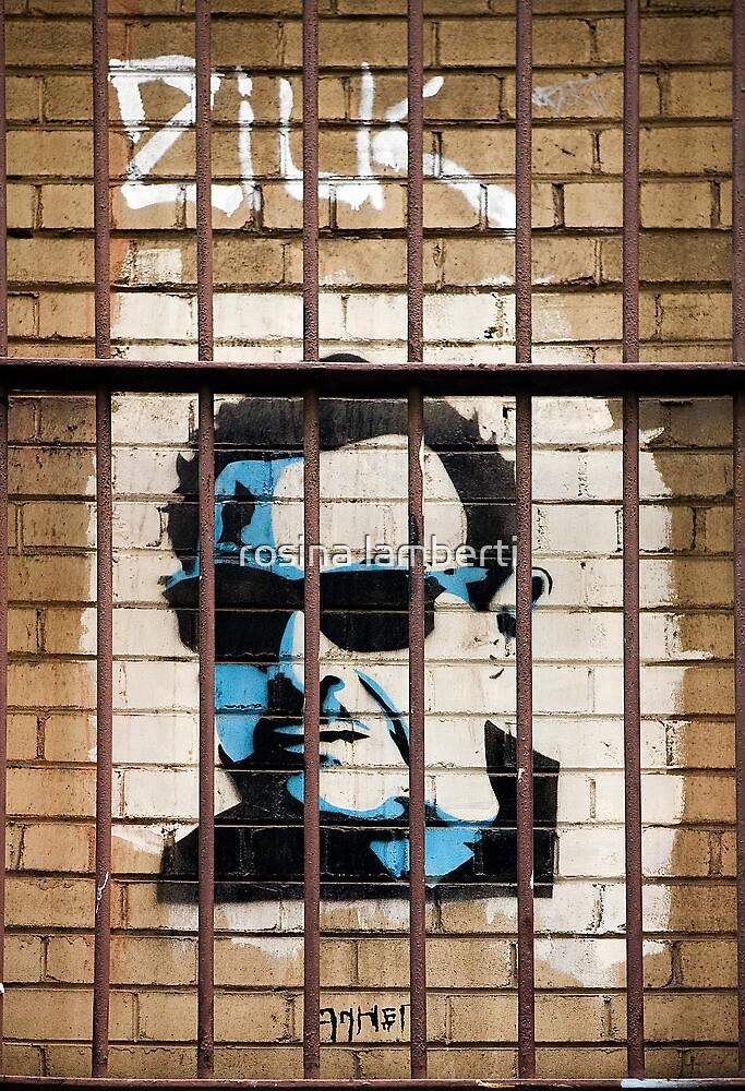 Graffiti by Haha  by Rosina  Lamberti