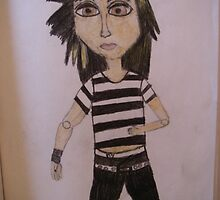 Bill from Tokio Hotel Doll by MaiHarmon