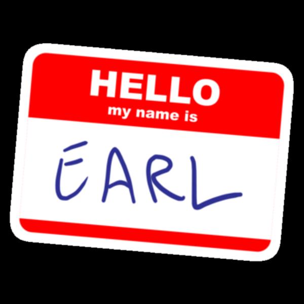 Hi, my name is Earl by Stuart Stolzenberg