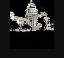 Texas State Capitol Building - Night View - Austin Unisex T-Shirt