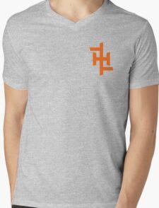 Orangeh Mens V-Neck T-Shirt