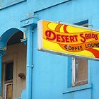 Retro Coffee Lounge Sign by HappyMoonlight