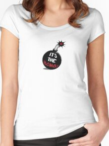 It's The Bomb Women's Fitted Scoop T-Shirt