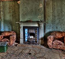 Fire Place by Ian English
