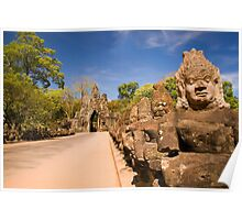Angkor Thom South Gate Poster