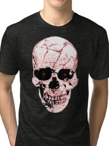 Evil Skull Tri-blend T-Shirt