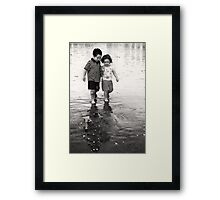 Just the two of us... Framed Print