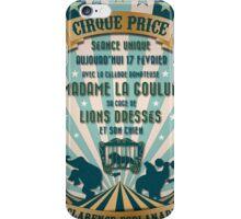 CIRQUE PRICE BLEU iPhone Case/Skin