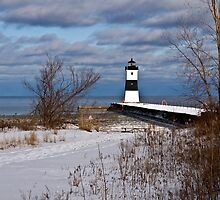North Pier Lighthouse by Kathy Weaver