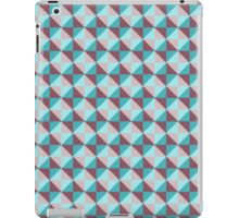 Trendy abstract square and triangle multicolored pattern iPad Case/Skin