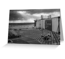 Airport Do Do De Do De dooo Greeting Card