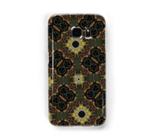 Abstract hexagon shapes pattern Samsung Galaxy Case/Skin