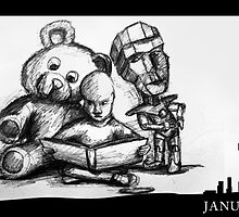 January 7th - The family story by 365 Notepads -  School of Faces