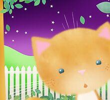Surprise Cat! by Hannah Chapman
