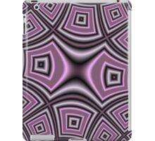 Purple abstract modern nice pattern iPad Case/Skin