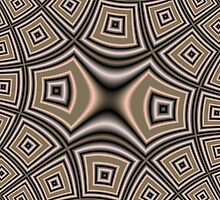 Brown abstract pattern by ZierNor