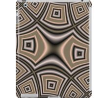 Brown abstract pattern iPad Case/Skin