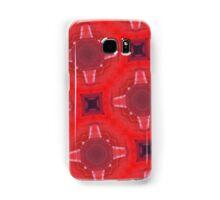 red glass pattern Samsung Galaxy Case/Skin