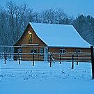 PreDawn Horse Barn by Geno Rugh