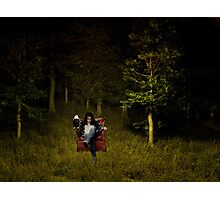 When you go down to the woods today... Photographic Print