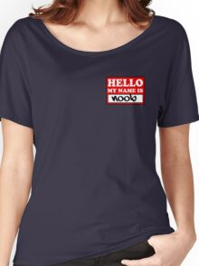The noob badge Women's Relaxed Fit T-Shirt