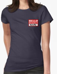 The noob badge Womens Fitted T-Shirt