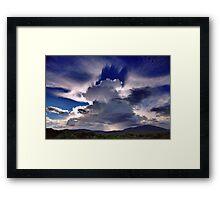 Cloud Shadows Framed Print
