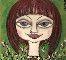 LOVELY  CIENNA by Barbara Cannon  ART.. AKA Barbieville