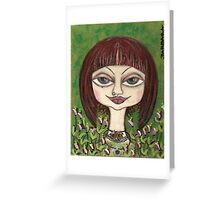 LOVELY  CIENNA Greeting Card