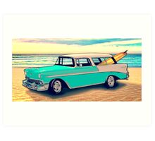 56 Nomad by the Sea in the Morning Art Print