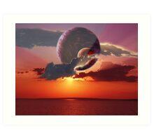 Dream Morning Art Print