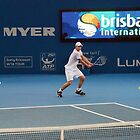 Roddick - Brisbane International by MickDee