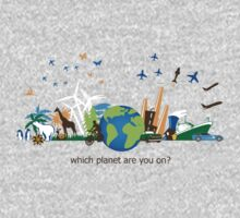 Which Planet Are You On? - version 3 One Piece - Long Sleeve