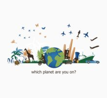 Which Planet Are You On? - version 3 Kids Clothes