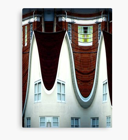 Above March Hare's House Canvas Print
