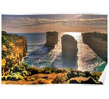 Degrees of Separation #4 - Twelve Apostles, Great Ocean Road - The HDR Experience Poster