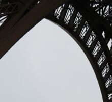 Paris Noir: Eiffel Tower in Black: Travel Sticker