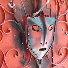 Mask of Callejon de Hamel, Havana, Cuba by apricotargante