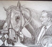 'Horse from Heaven' Saintly with his 1996 cox plate by TheJWay