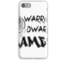 Warrior Dwarf Games iPhone Case/Skin