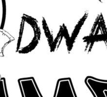 Warrior Dwarf Games Sticker